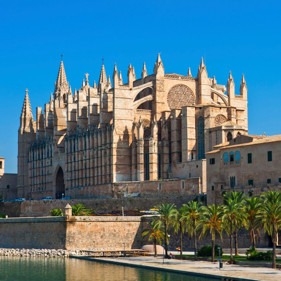 Architecture Buildings Cultural Exterior Landmarks sky building landmark historic site City plaza palace cathedral place of worship town square cityscape château castle day