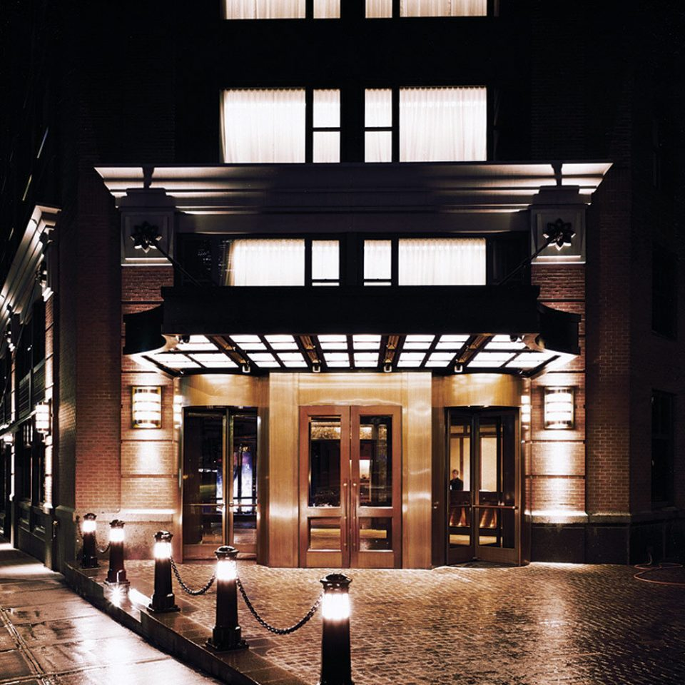 Architecture Buildings City Exterior Modern ground light night lighting