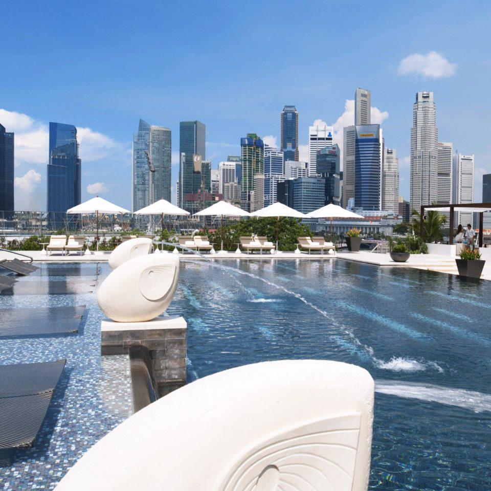 Architecture Buildings City Luxury Play Pool Resort Scenic views condominium property marina swimming pool dock