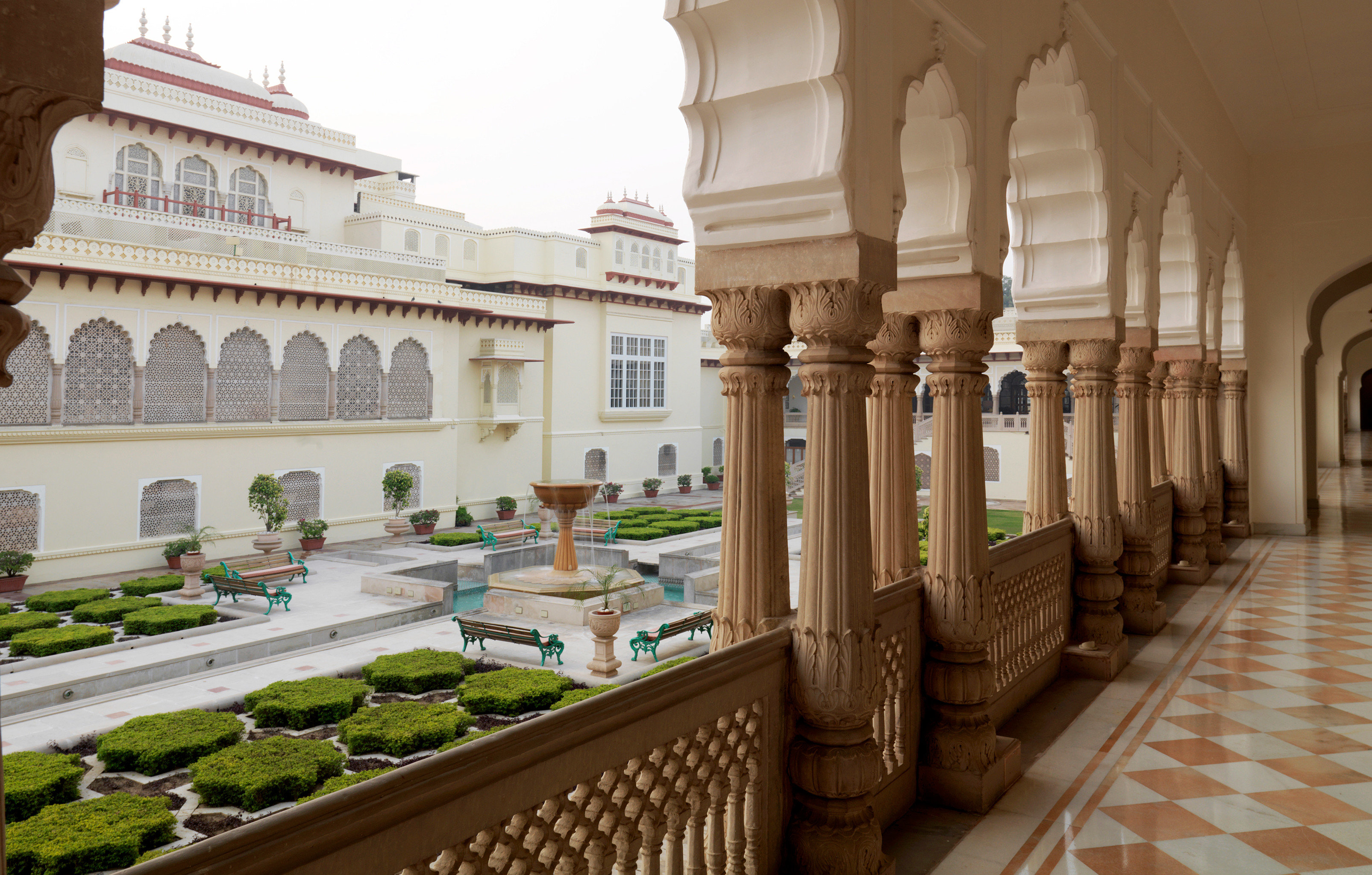 Architecture Buildings Elegant Grounds Luxury Resort building palace Courtyard ancient history mansion tourist attraction place of worship plaza colonnade