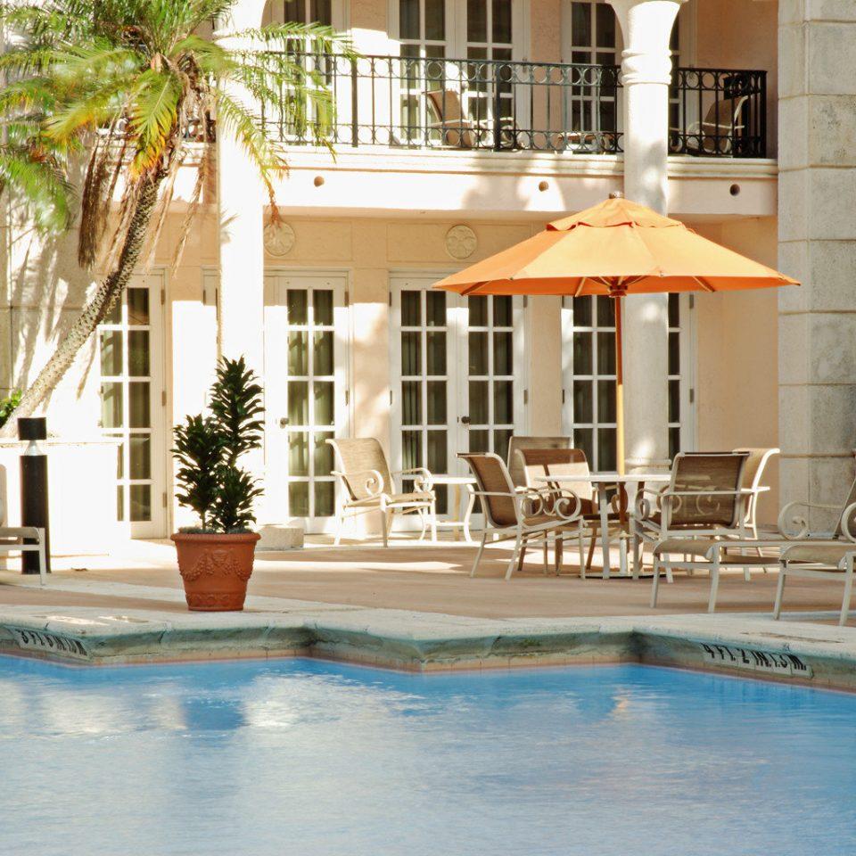 Architecture Buildings Lounge Pool swimming pool leisure property building condominium Resort home Villa backyard Courtyard mansion plaza swimming