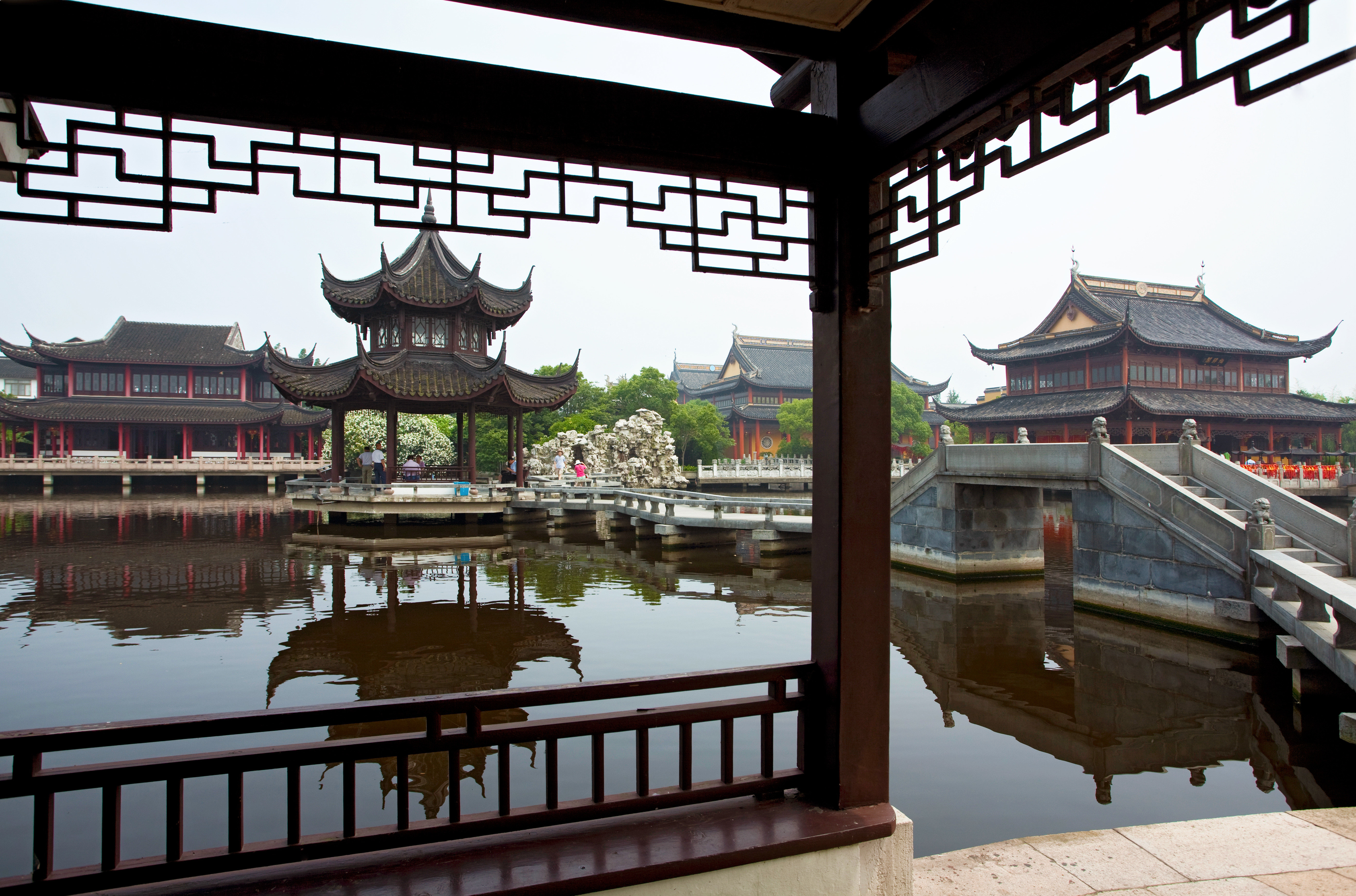 Architecture Buildings Cultural Exterior Luxury Waterfront landmark temple shrine travel Resort tourist attraction