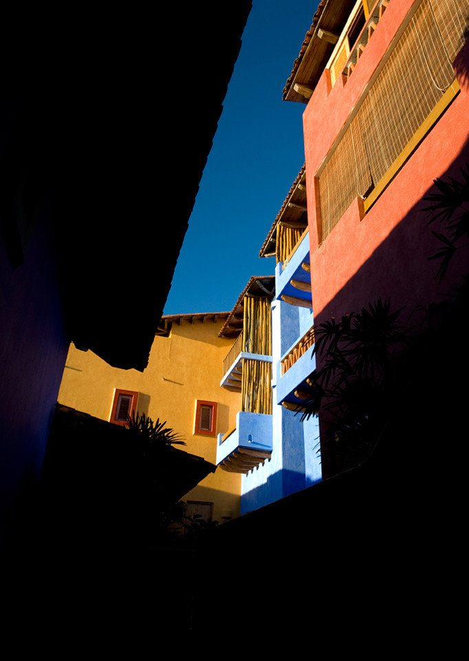 Buildings Cultural sky color blue night light yellow house darkness Architecture evening shape dusk cityscape Sunset