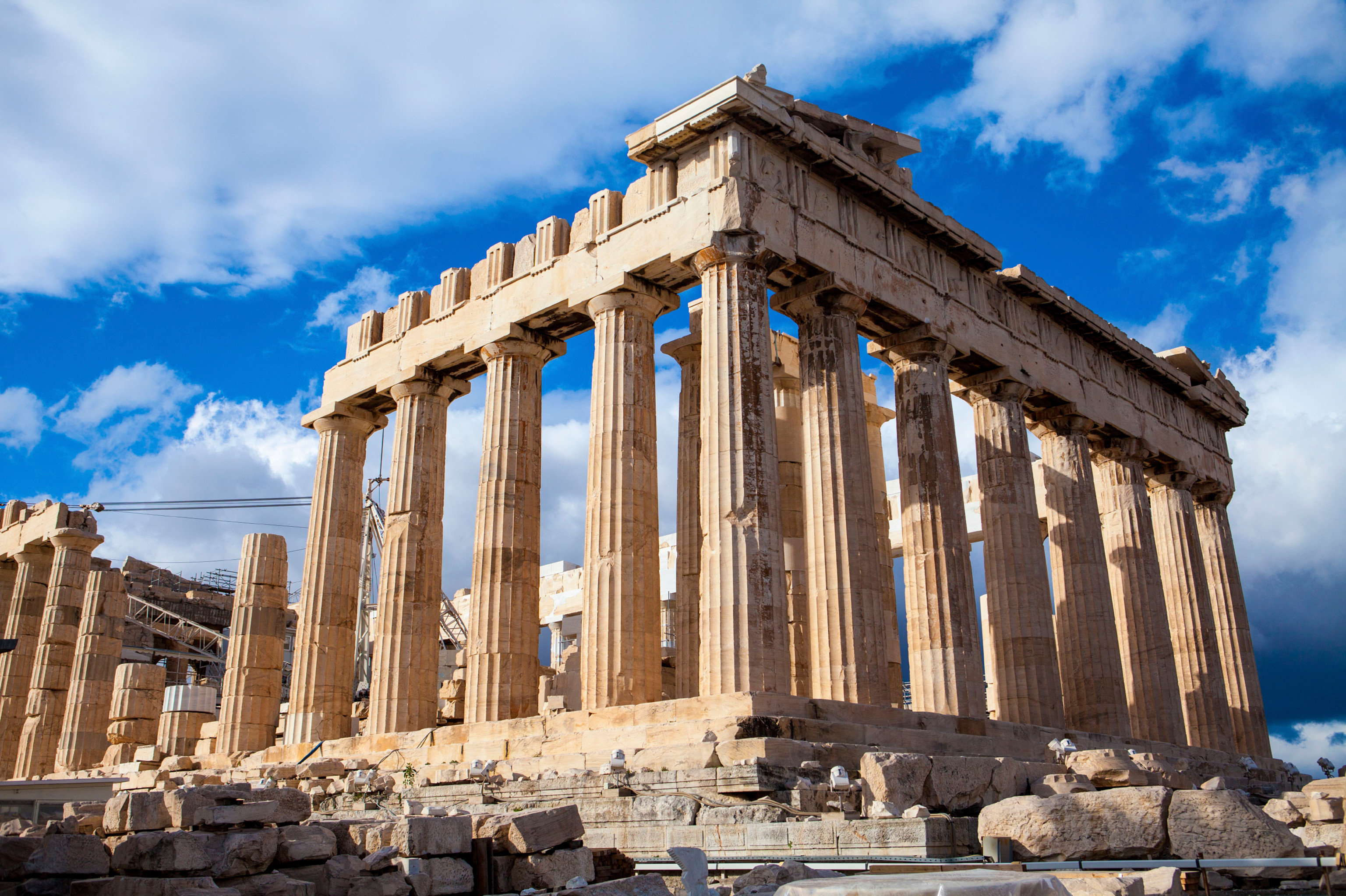 Architecture Buildings Elegant Exterior Landmarks sky building ancient greek temple roman temple ancient roman architecture landmark historic site structure Ruins archaeological site ruin ancient history column monument place of worship temple hindu temple unesco world heritage site palace stone