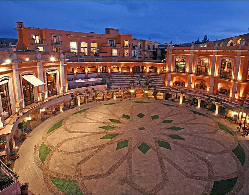 Architecture Buildings Elegant Exterior Historic Rustic building sky plaza landmark town square amphitheatre palace bullring ancient rome ancient history Resort