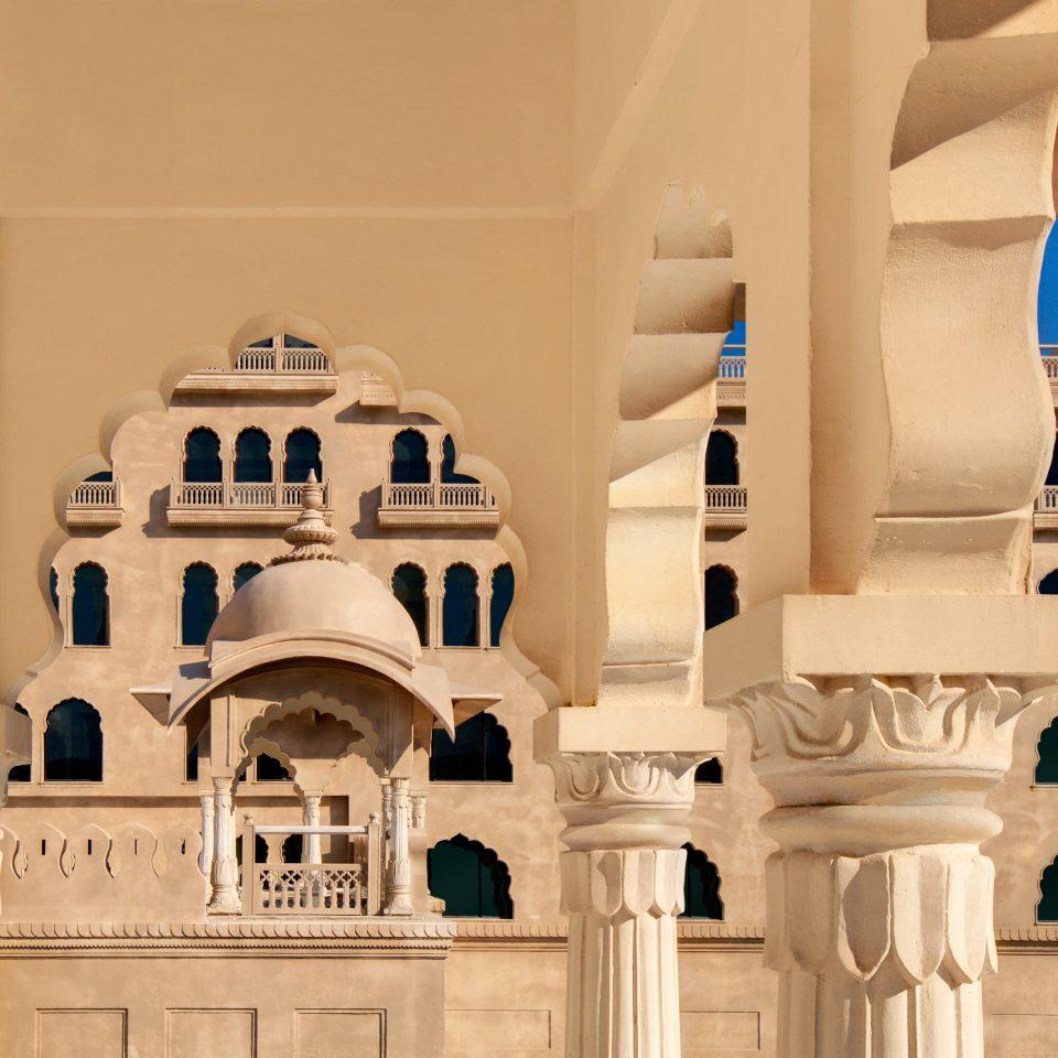 Architecture Buildings Exterior structure landmark column art arch ancient history palace sculpture mansion