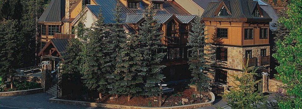 Architecture Buildings Exterior Lodge tree house Garden stone