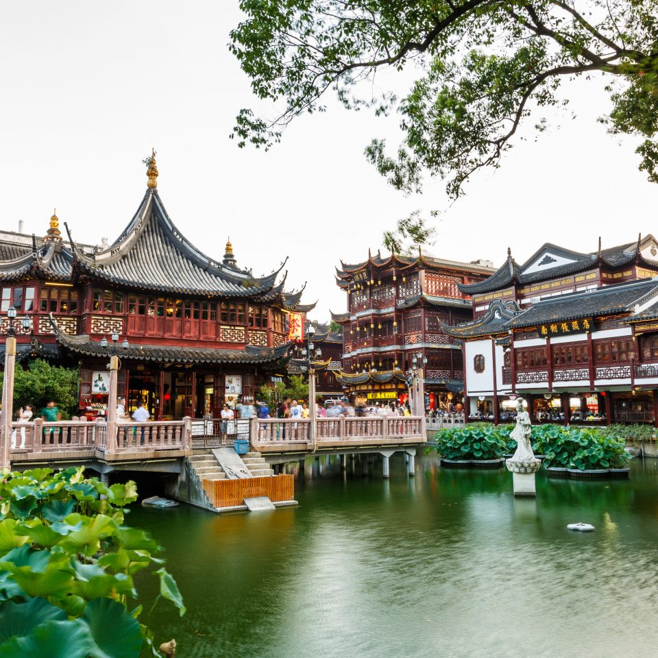 Architecture Buildings Exterior Garden Grounds Resort Trip Ideas Waterfront chinese architecture tree Town temple palace resort town shrine shinto shrine place of worship