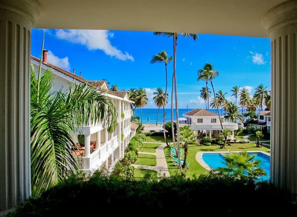Architecture Buildings Exterior Lounge Luxury Modern Pool property building condominium house home Resort mural mansion caribbean Villa plant