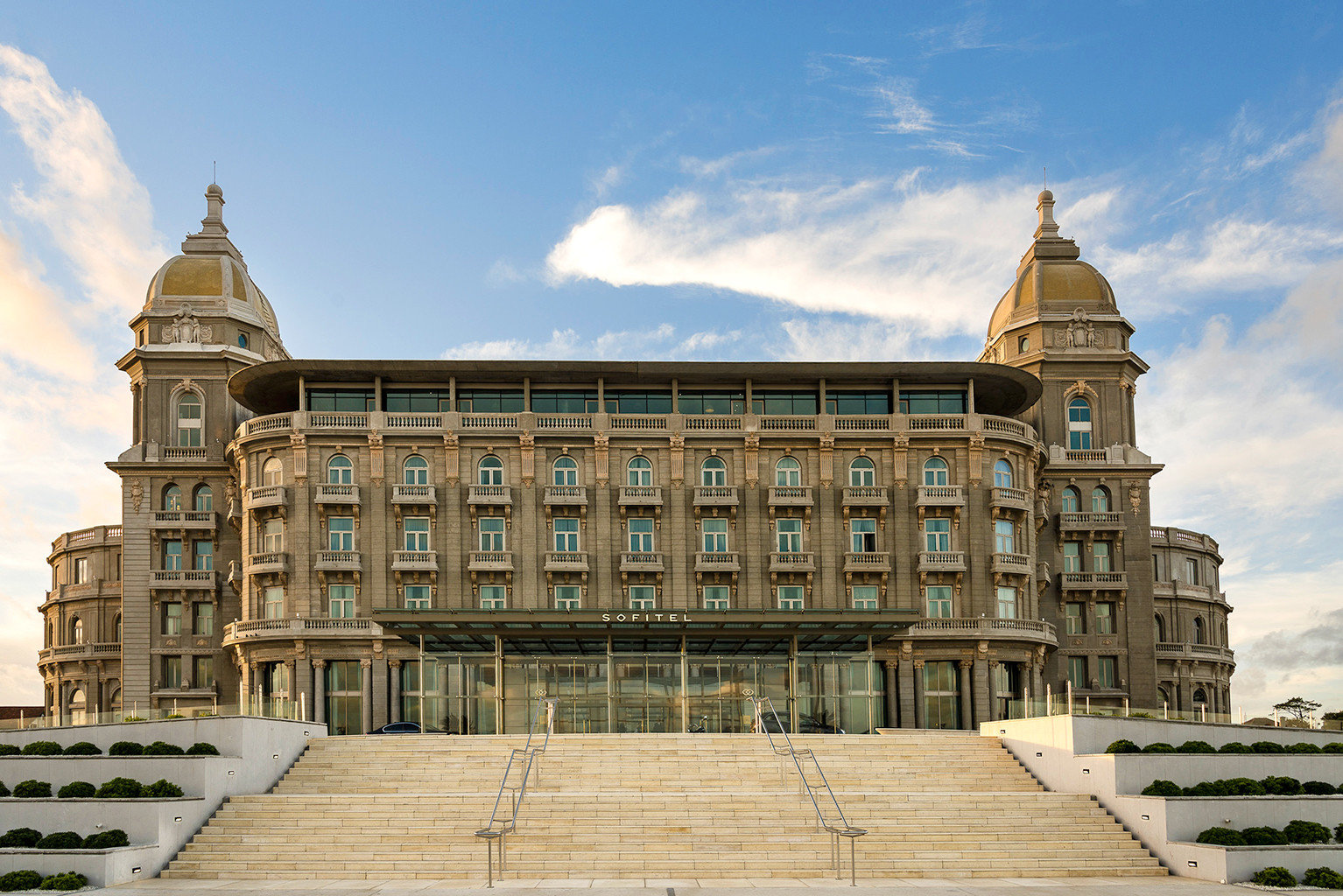 Architecture Buildings Exterior Luxury Resort building sky landmark palace classical architecture plaza château government building