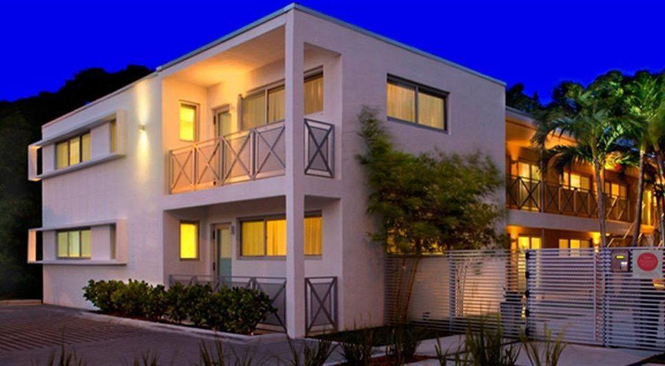 Architecture Buildings Exterior Modern property house home condominium Villa Resort mansion