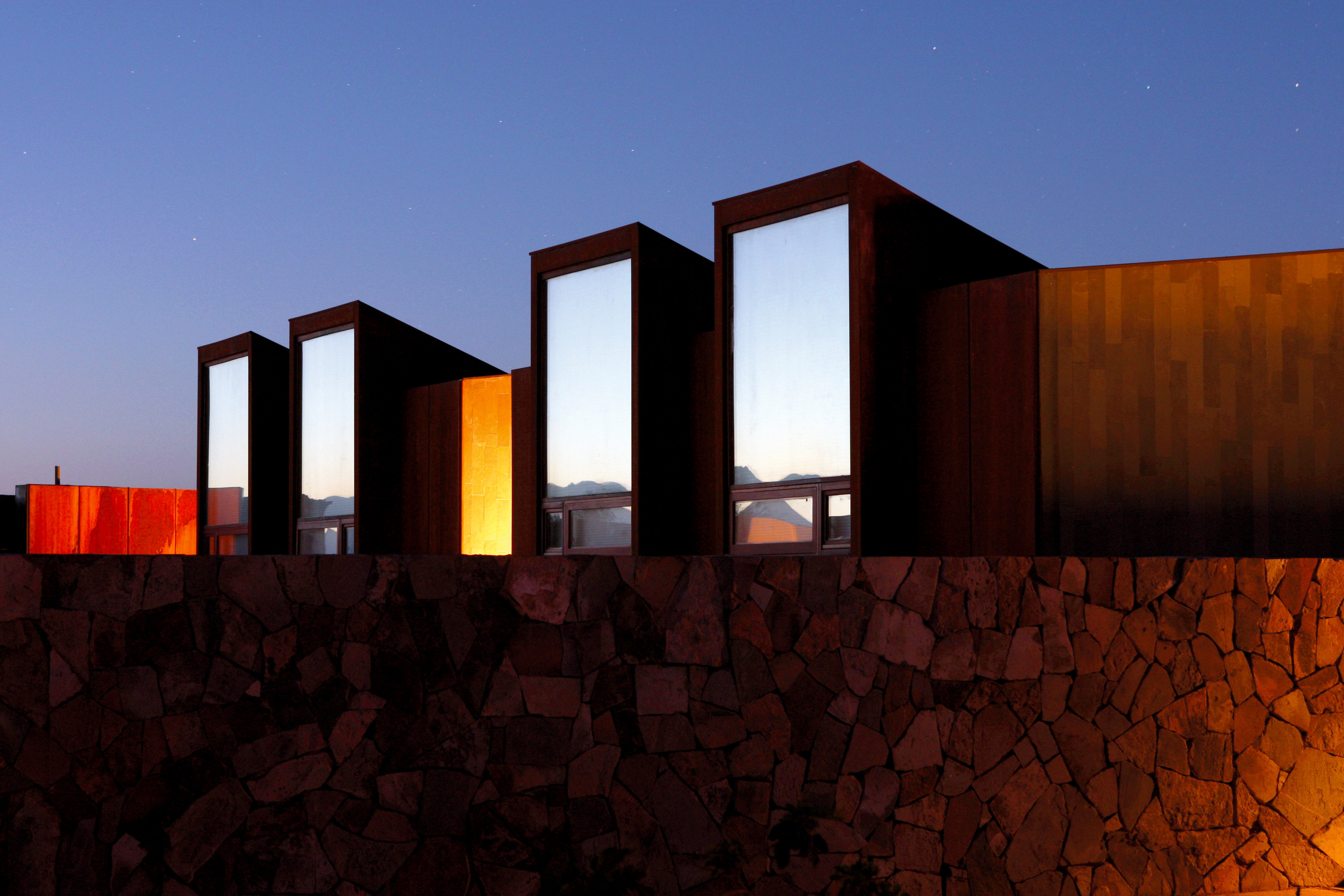 Architecture Buildings Exterior Mountains Outdoors sky house building sunlight evening