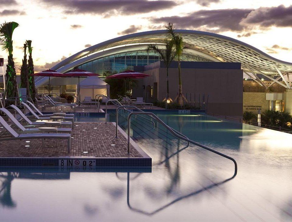 Architecture Buildings Exterior Resort sky structure sport venue stadium arena snow