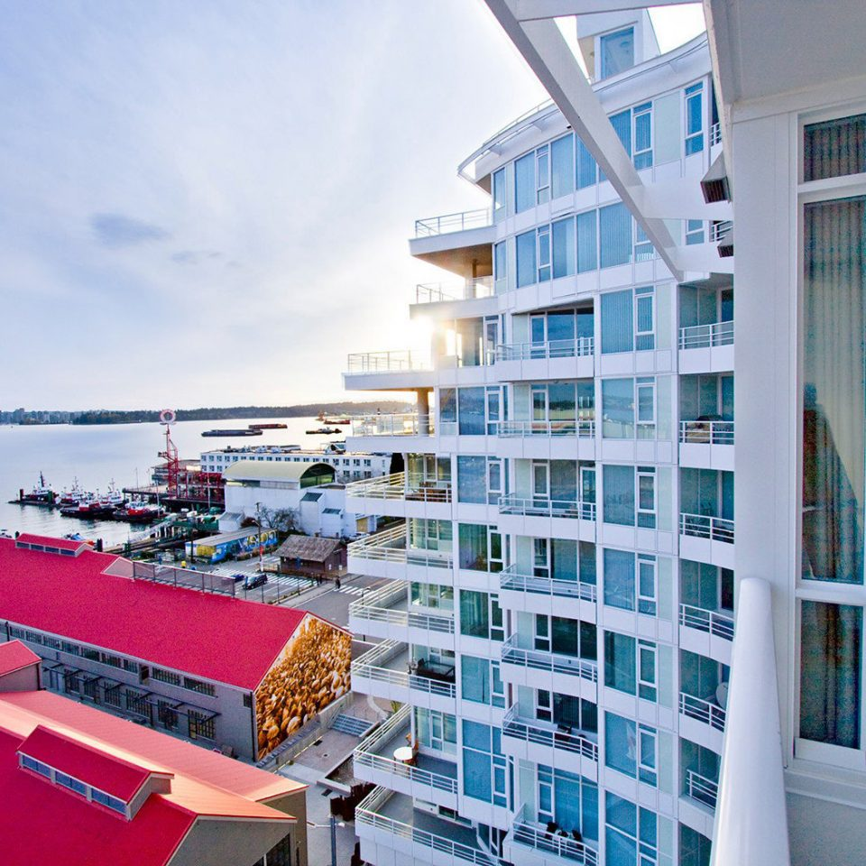 Architecture Buildings Exterior Resort Waterfront condominium vehicle marina cruise ship