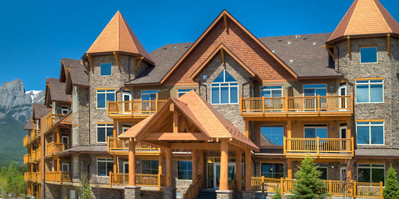 Architecture Buildings Exterior Resort building house home landmark neighbourhood residential area wooden residential building material