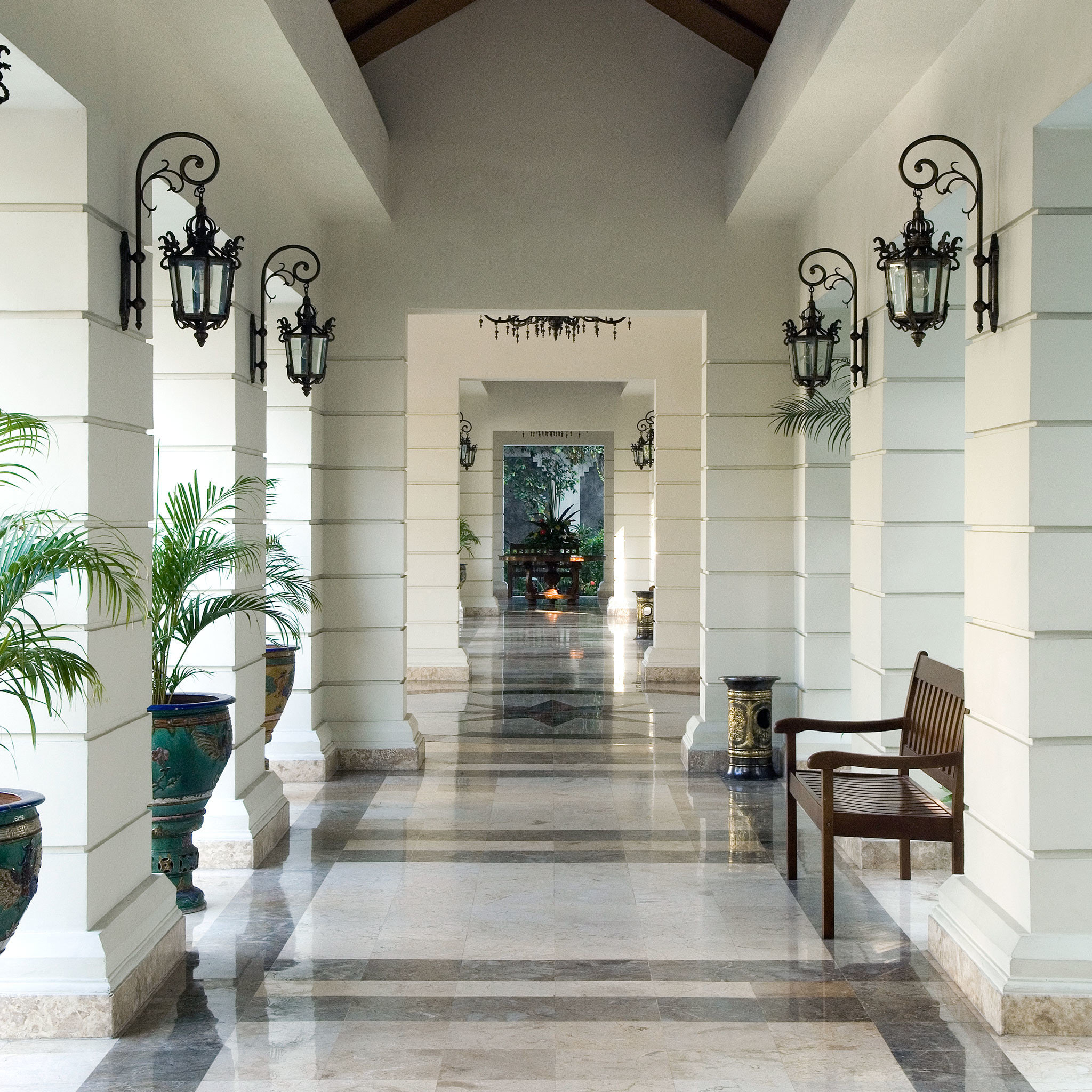 Architecture Buildings Grounds Resort Lobby property living room home flooring hall tourist attraction altar colonnade