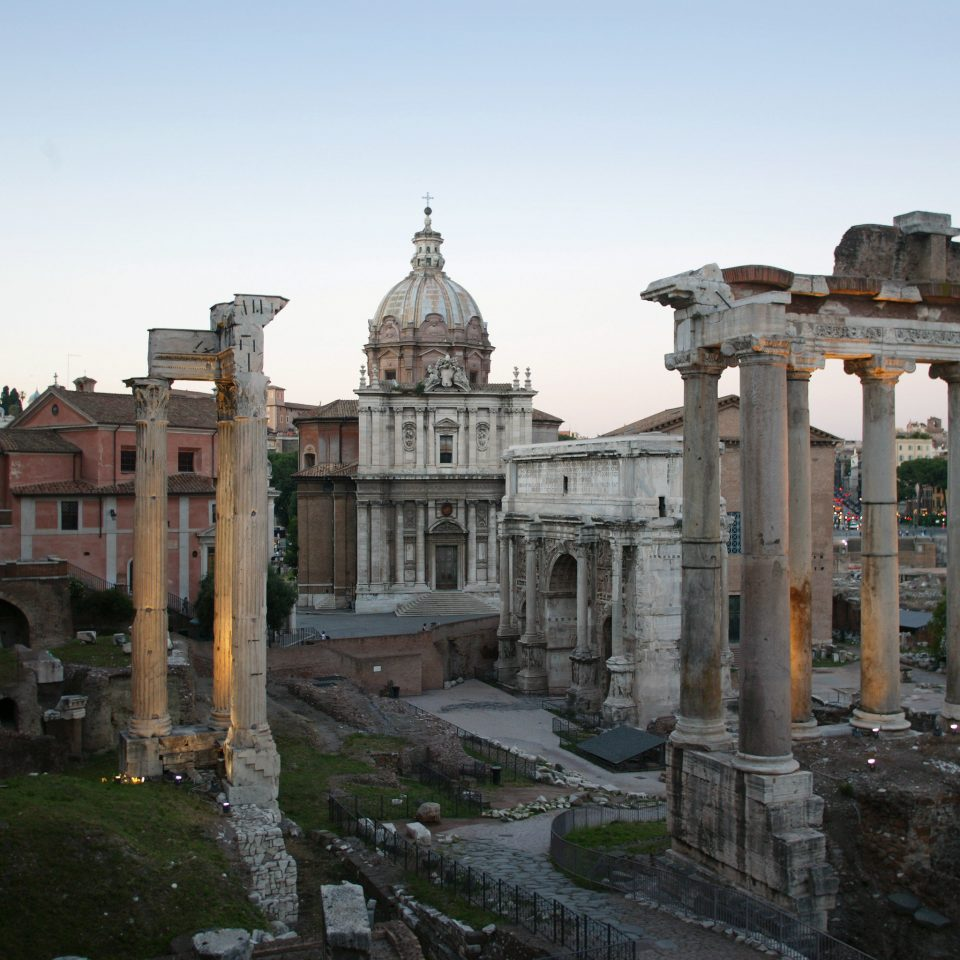 Architecture Buildings Historic Landmarks Monuments Ruins sky building historic site landmark Town ancient history ancient rome ancient roman architecture palace temple basilica place of worship unesco world heritage site stone old