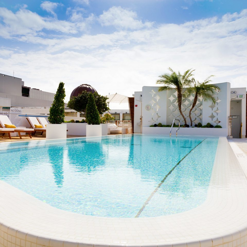 Architecture Buildings Play Pool Resort Rooftop sky swimming pool property leisure Villa home backyard