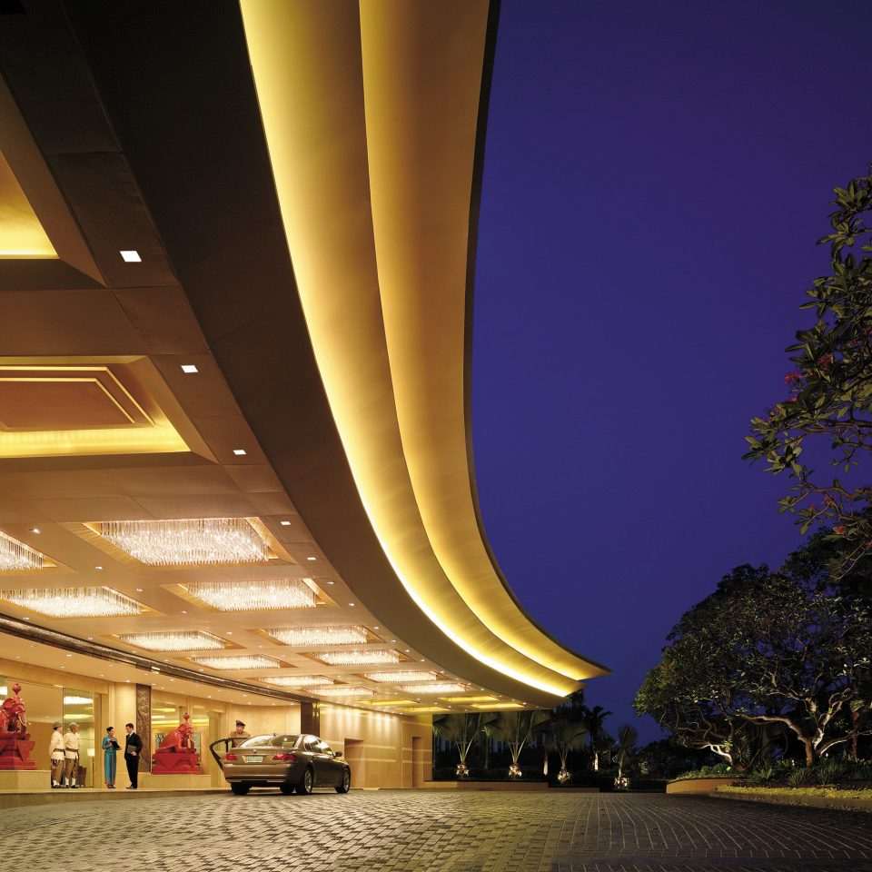 Business City Elegant Exterior Luxury night structure landmark light Architecture evening lighting