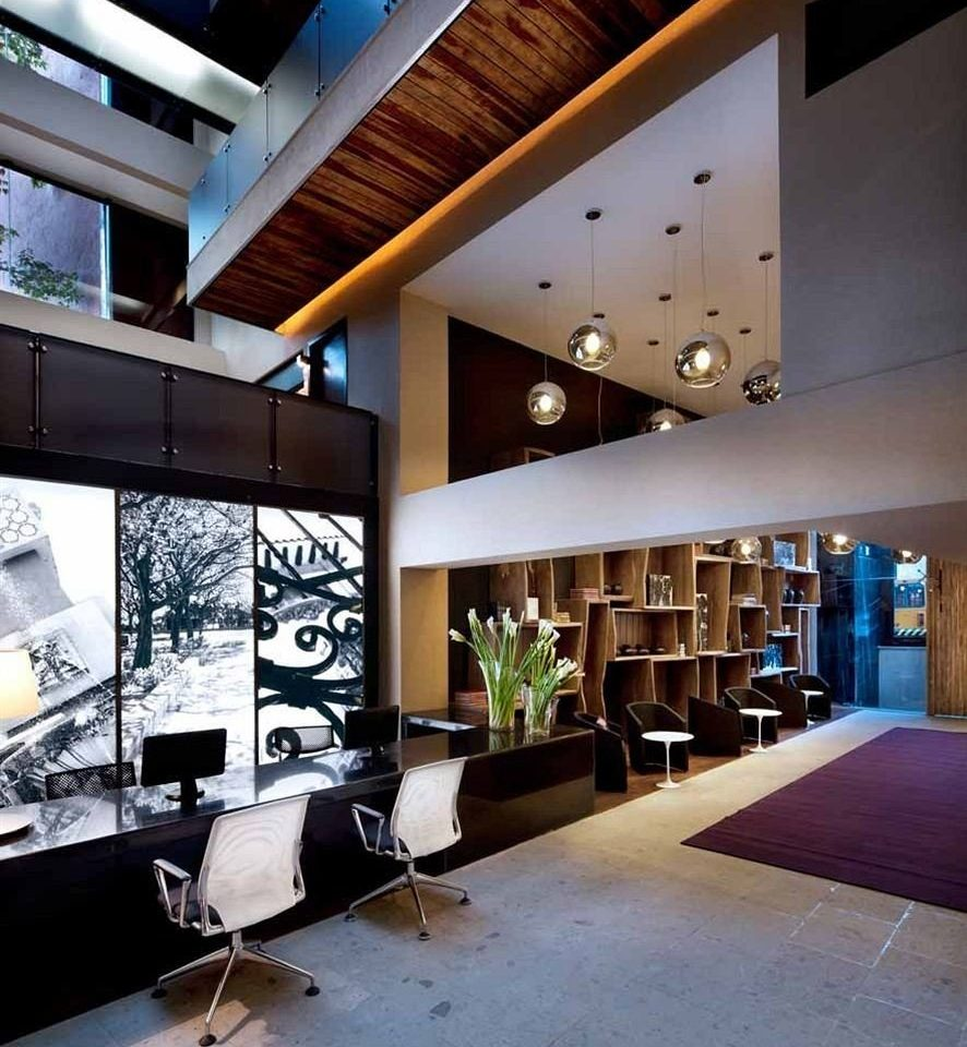 Business City Lobby Lounge Architecture living room home loft