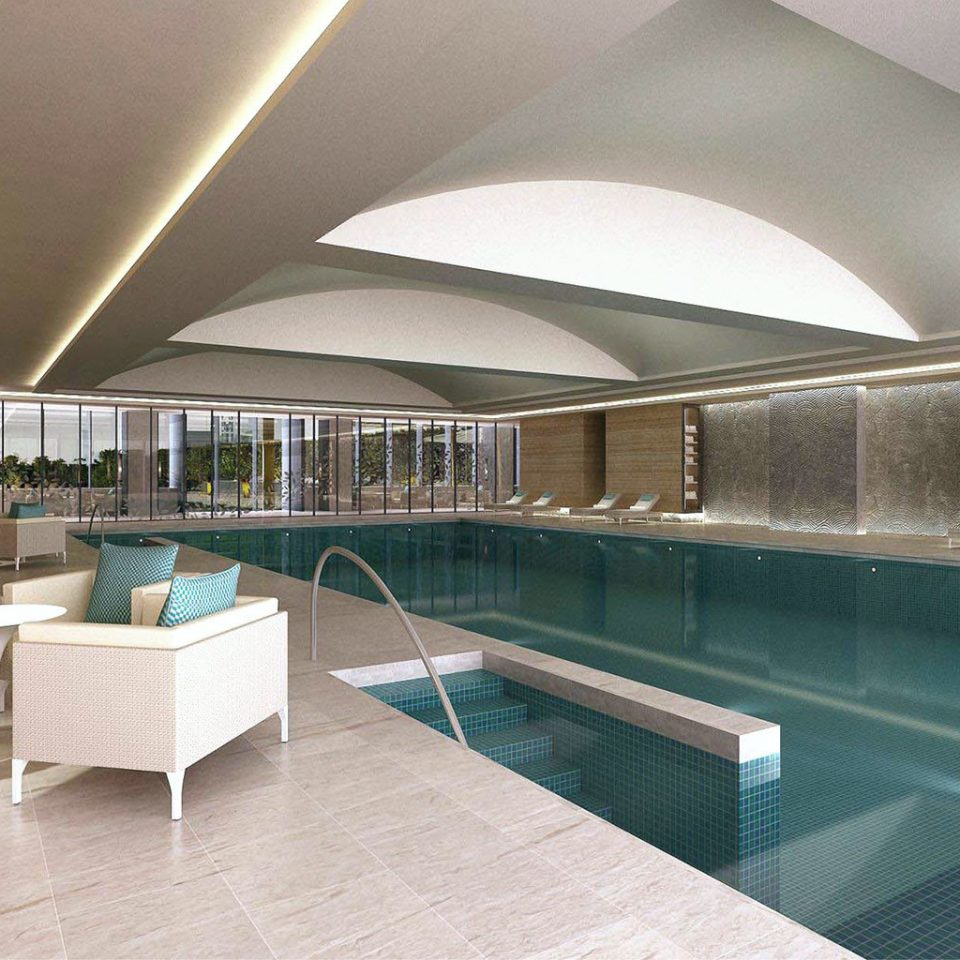 Business Fitness Pool Wellness property swimming pool leisure centre Architecture daylighting condominium headquarters convention center