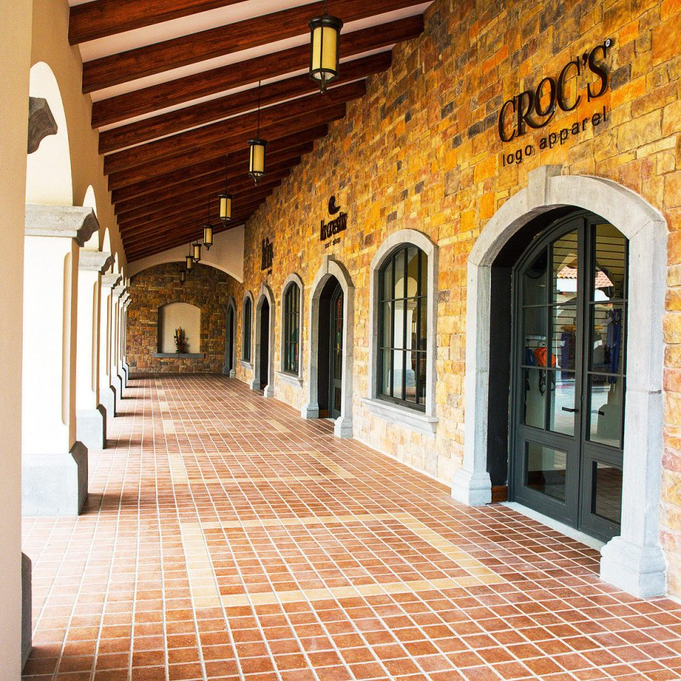 Casino Exterior Grounds Resort building brick property Architecture arcade Courtyard hall arch Lobby flooring stone