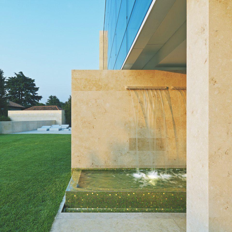 grass house green Architecture home professional concrete cement