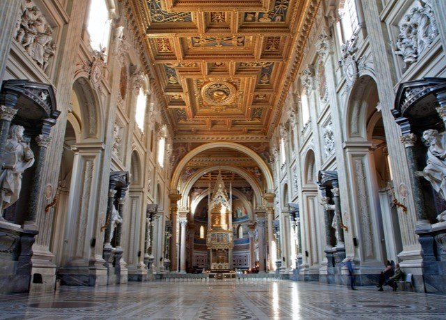 building basilica cathedral Architecture place of worship Church palace ancient history arcade gothic architecture column stone colonnade