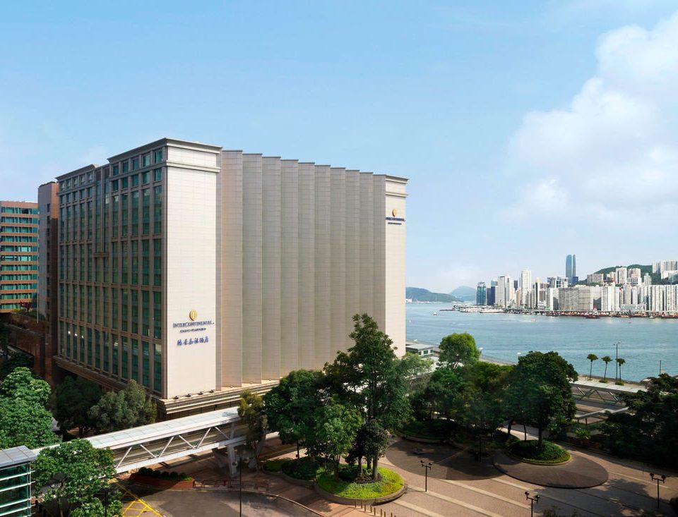 sky property building Architecture City condominium residential area tower block headquarters overlooking