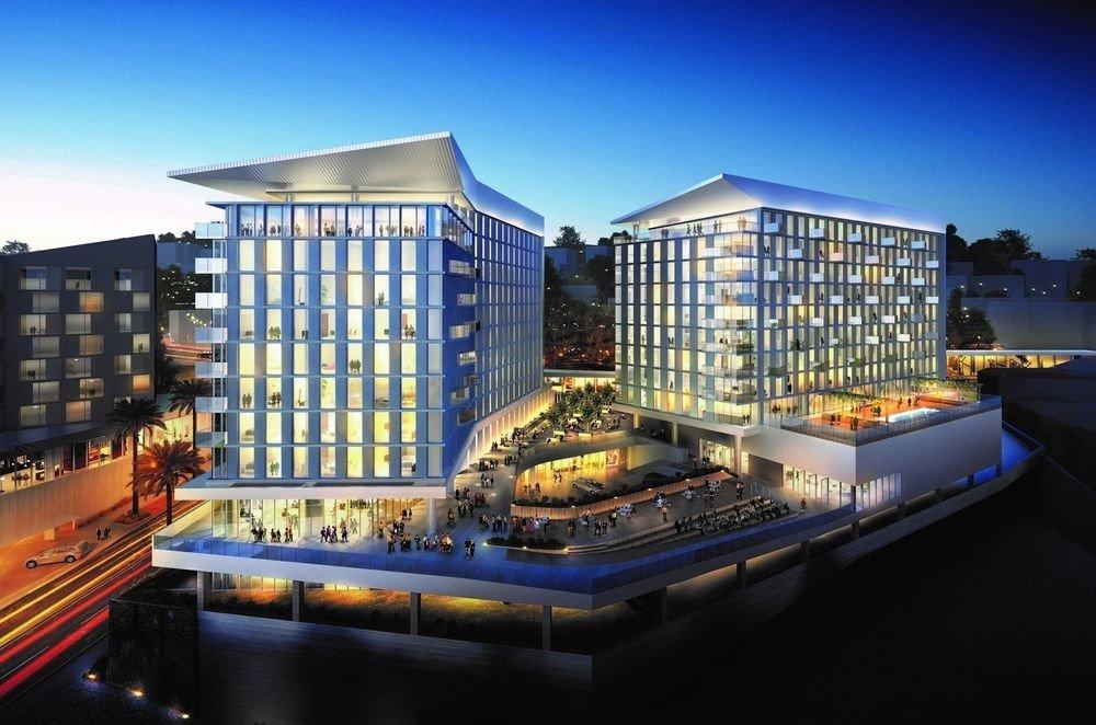 sky landmark Architecture condominium cityscape waterway City