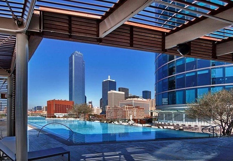 City Classic Pool building condominium landmark Architecture skyscraper Downtown plaza headquarters skyline cityscape convention center Resort