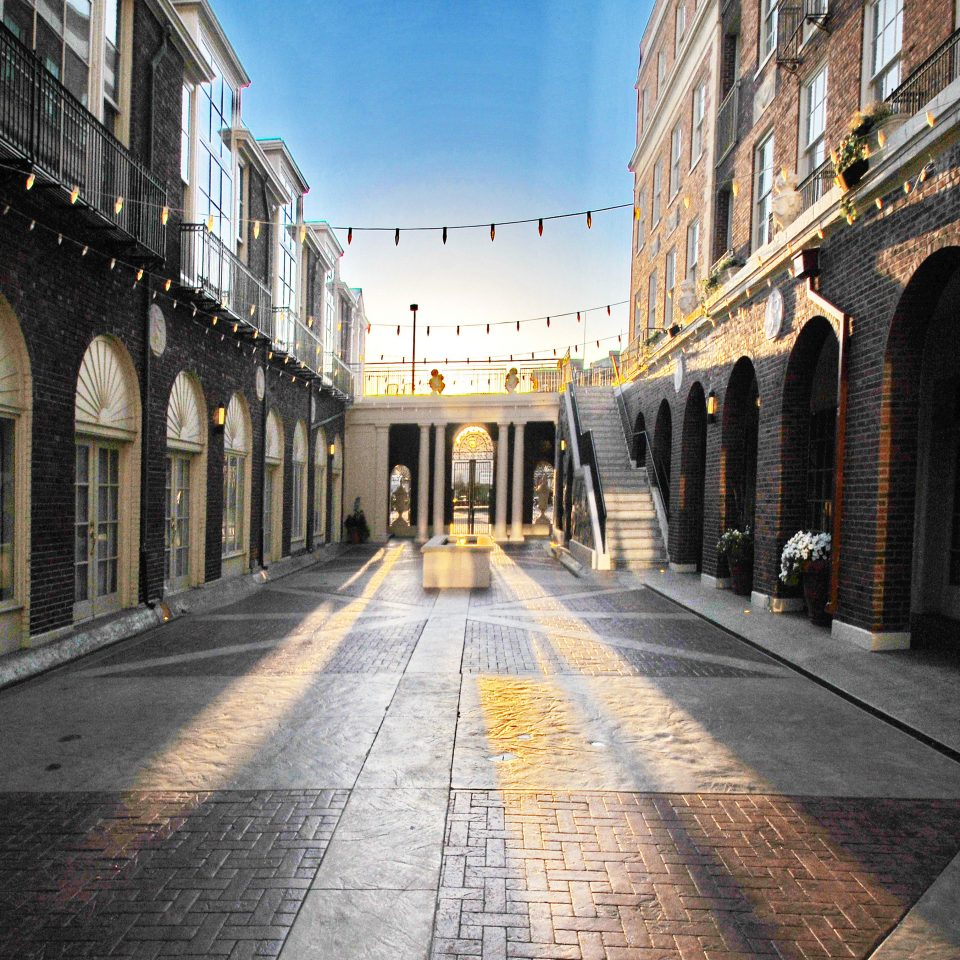 City Courtyard Cultural Historic way road scene metropolitan area sidewalk street Town lane alley neighbourhood Architecture infrastructure Downtown cityscape arcade pedestrian stone