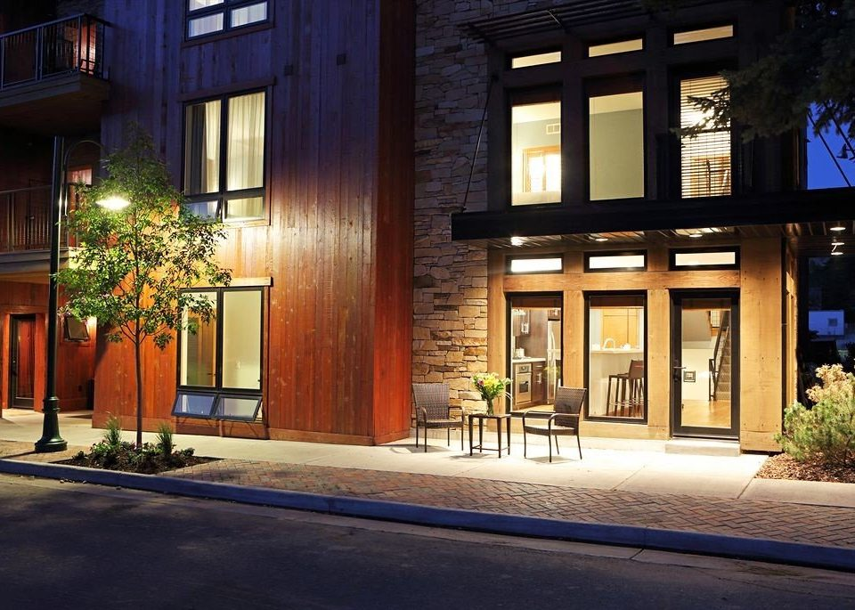 City Exterior Lodge house building Architecture neighbourhood home residential area lighting Courtyard Lobby