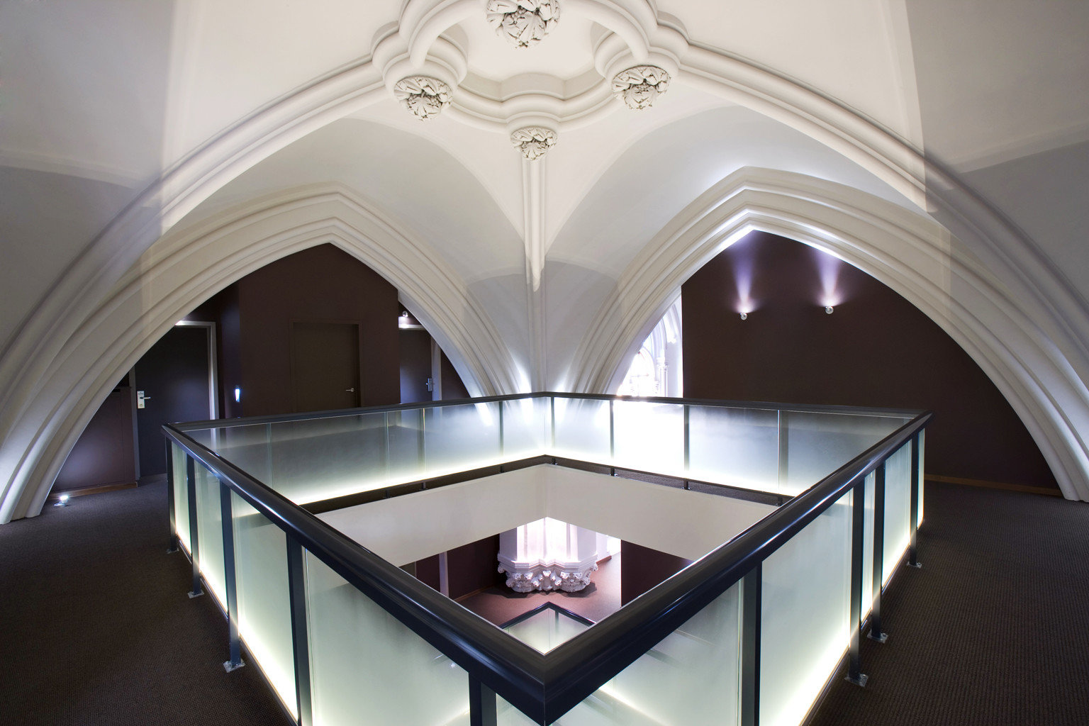 City Cultural Historic Lobby building Architecture house light daylighting stairs arch lighting symmetry dome hall step