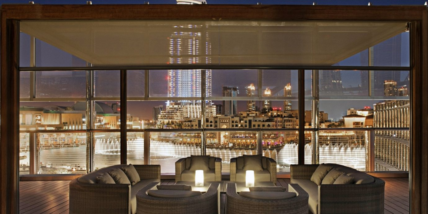 City Deck Drink Modern Rooftop Architecture lighting restaurant