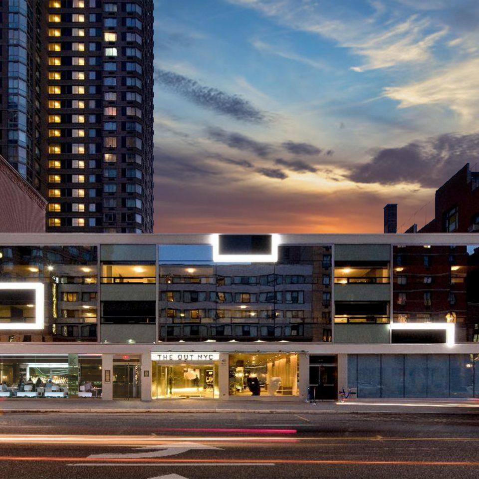 building metropolitan area City night residential area neighbourhood Architecture cityscape Downtown evening tower block metropolis condominium dusk