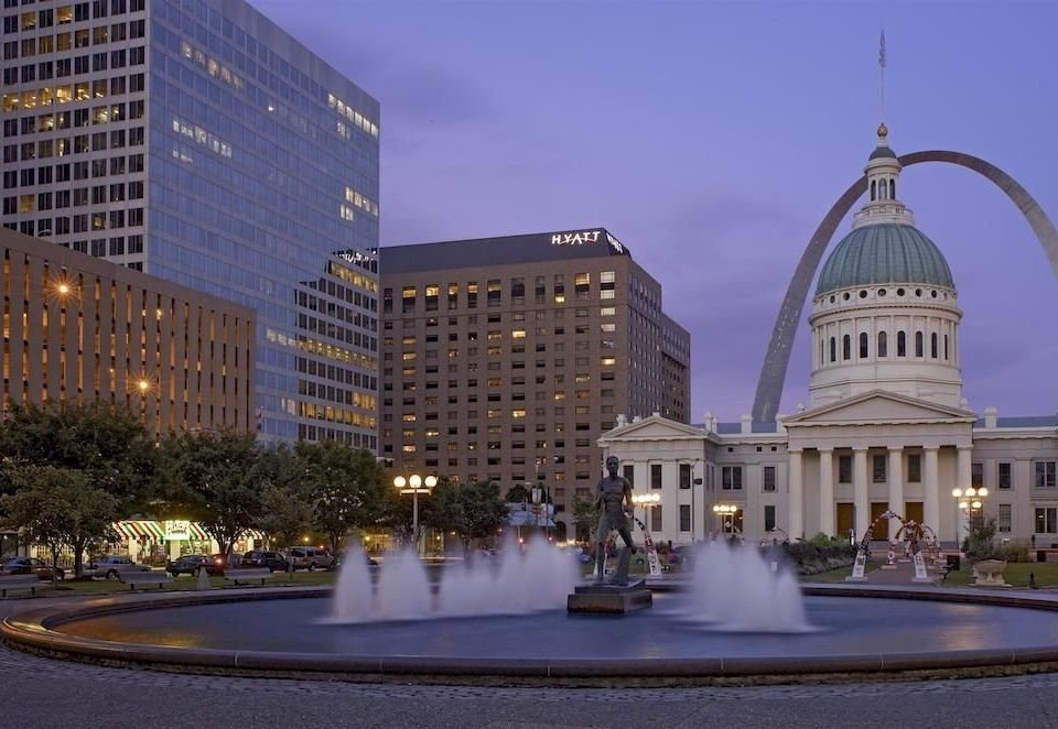 City Exterior building road metropolitan area landmark plaza government building night Downtown metropolis Architecture town square cityscape evening skyline