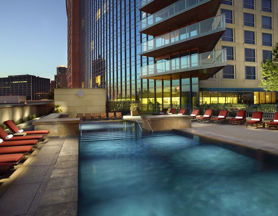 plaza City Architecture condominium Downtown Resort swimming pool walkway