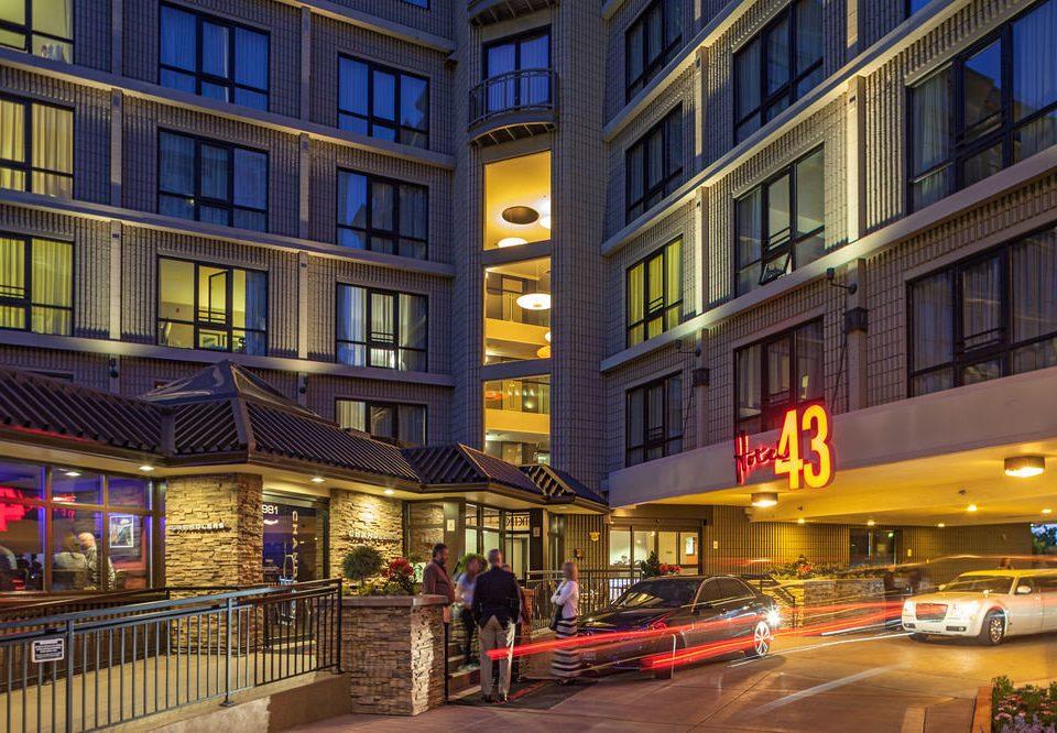 building metropolitan area City road Town night neighbourhood Downtown metropolis street Architecture plaza cityscape evening infrastructure