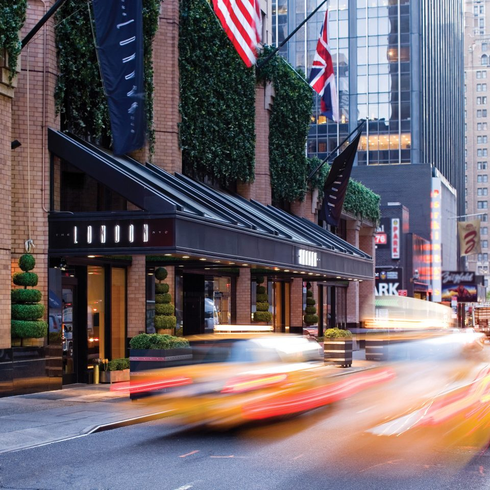 road color transport City sidewalk Town street way Downtown Architecture residential area scene cityscape evening pedestrian