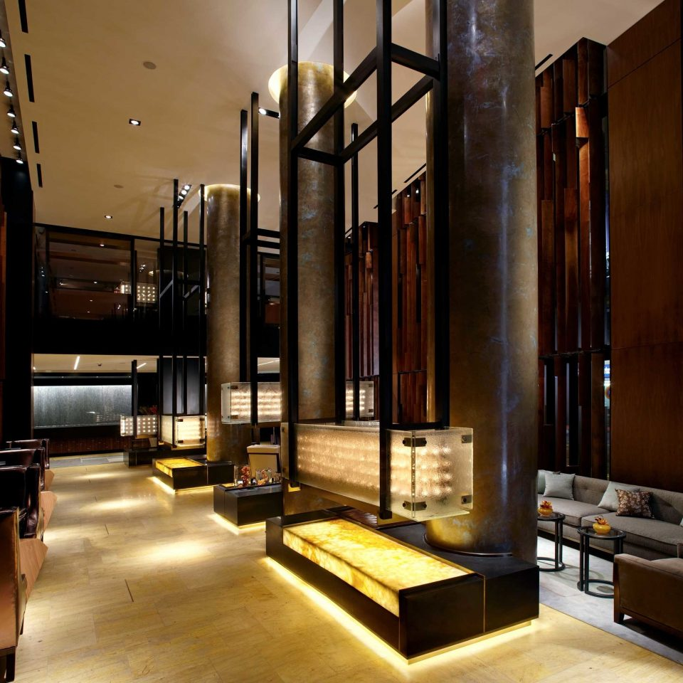 City Drink Elegant Lounge Luxury Lobby building Architecture lighting living room home tourist attraction steel