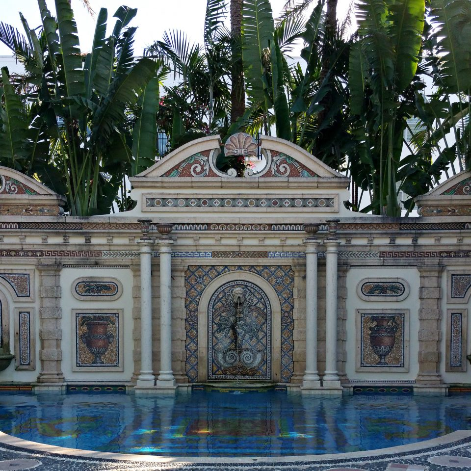 City Elegant Garden Grounds Historic Hotels Luxury Miami Miami Beach Romantic tree landmark Architecture fountain water feature palace monument plaza altar arch
