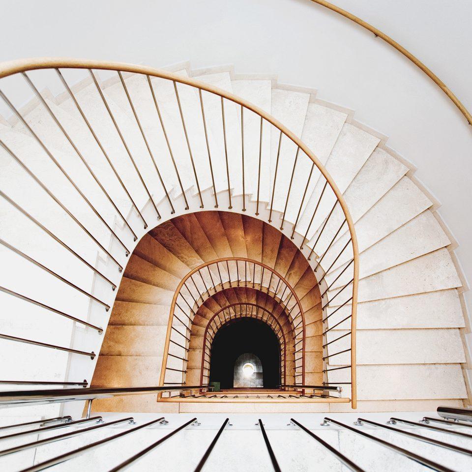 City Hip Modern arch Architecture tunnel daylighting spiral symmetry vault