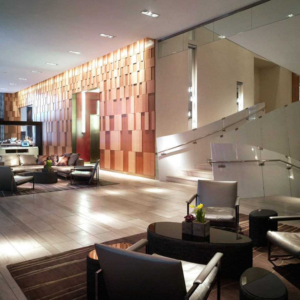 City Lobby Lounge Modern property living room condominium Architecture home lighting loft