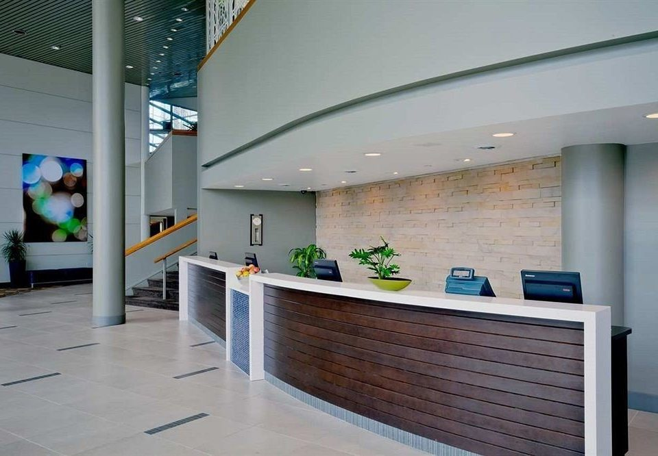 City Lobby Modern building Architecture office headquarters receptionist waiting room