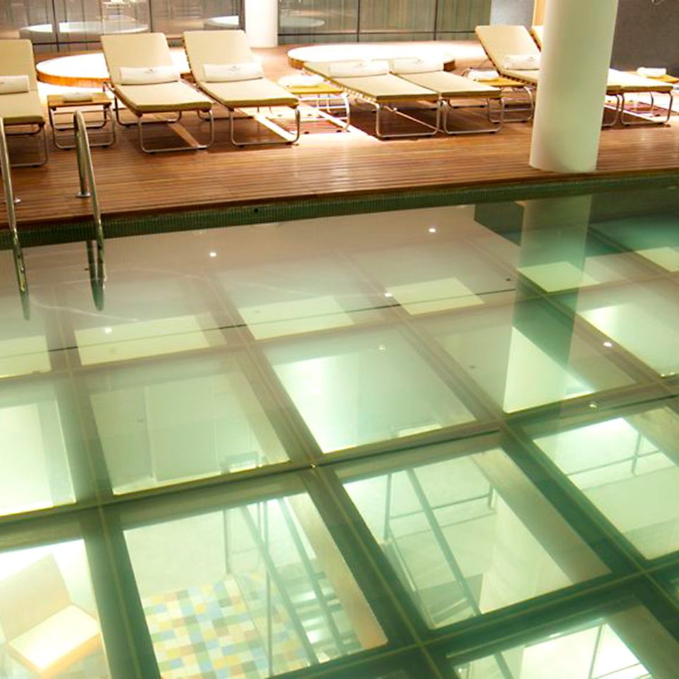City Lounge Luxury Pool light Architecture daylighting lighting glass flooring