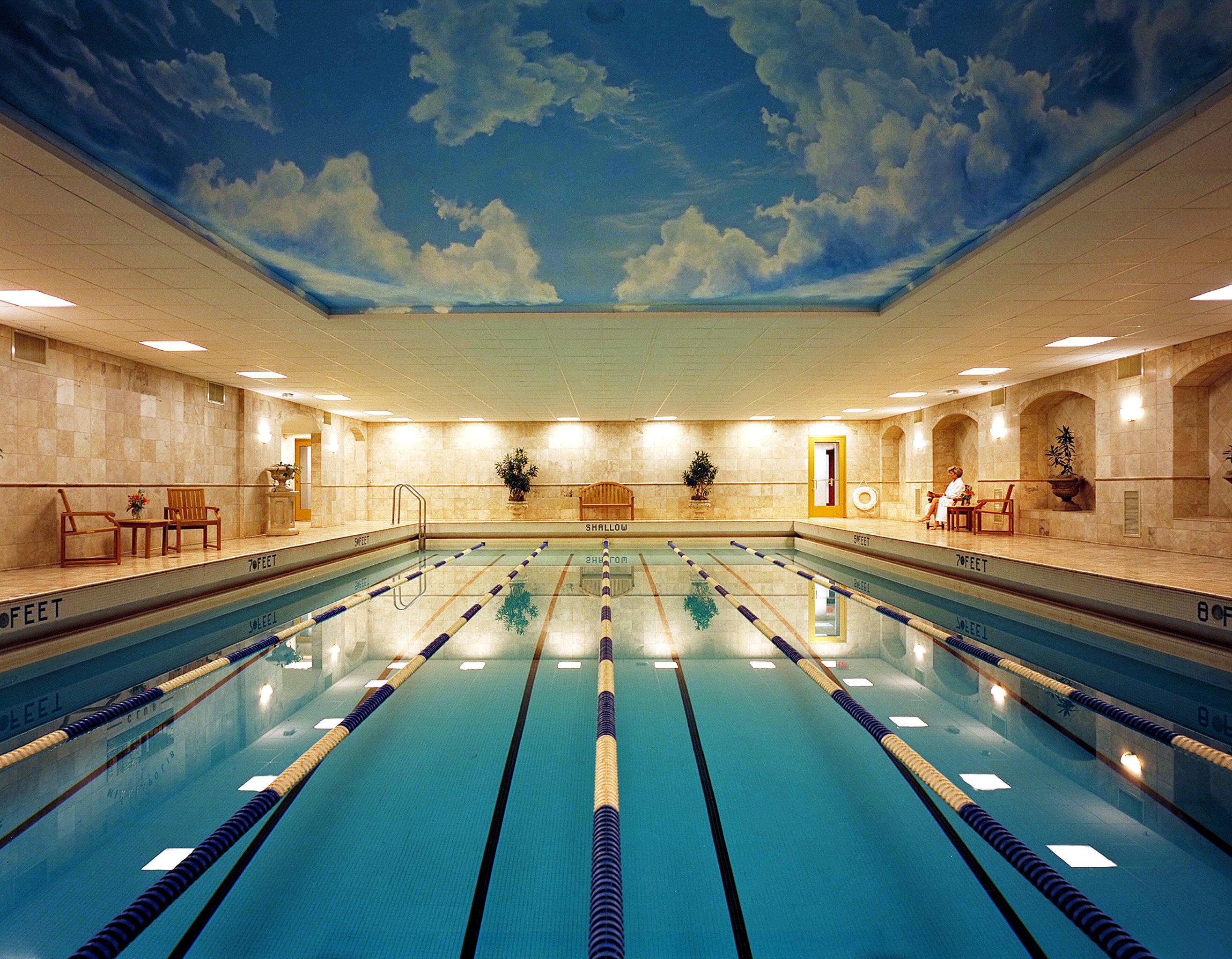 City Modern Pool scene road swimming pool way Architecture leisure centre convention center highway