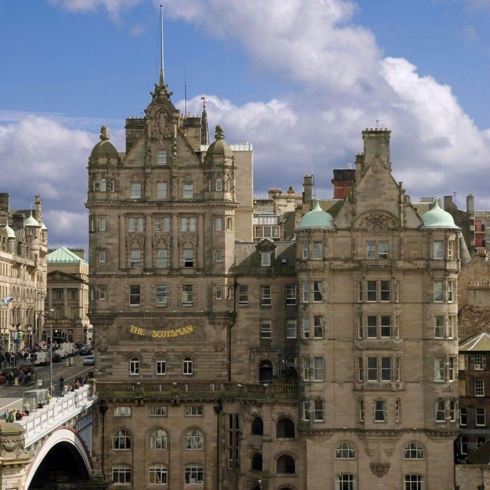 sky building landmark Town palace Architecture cityscape château castle ancient history City plaza tours day