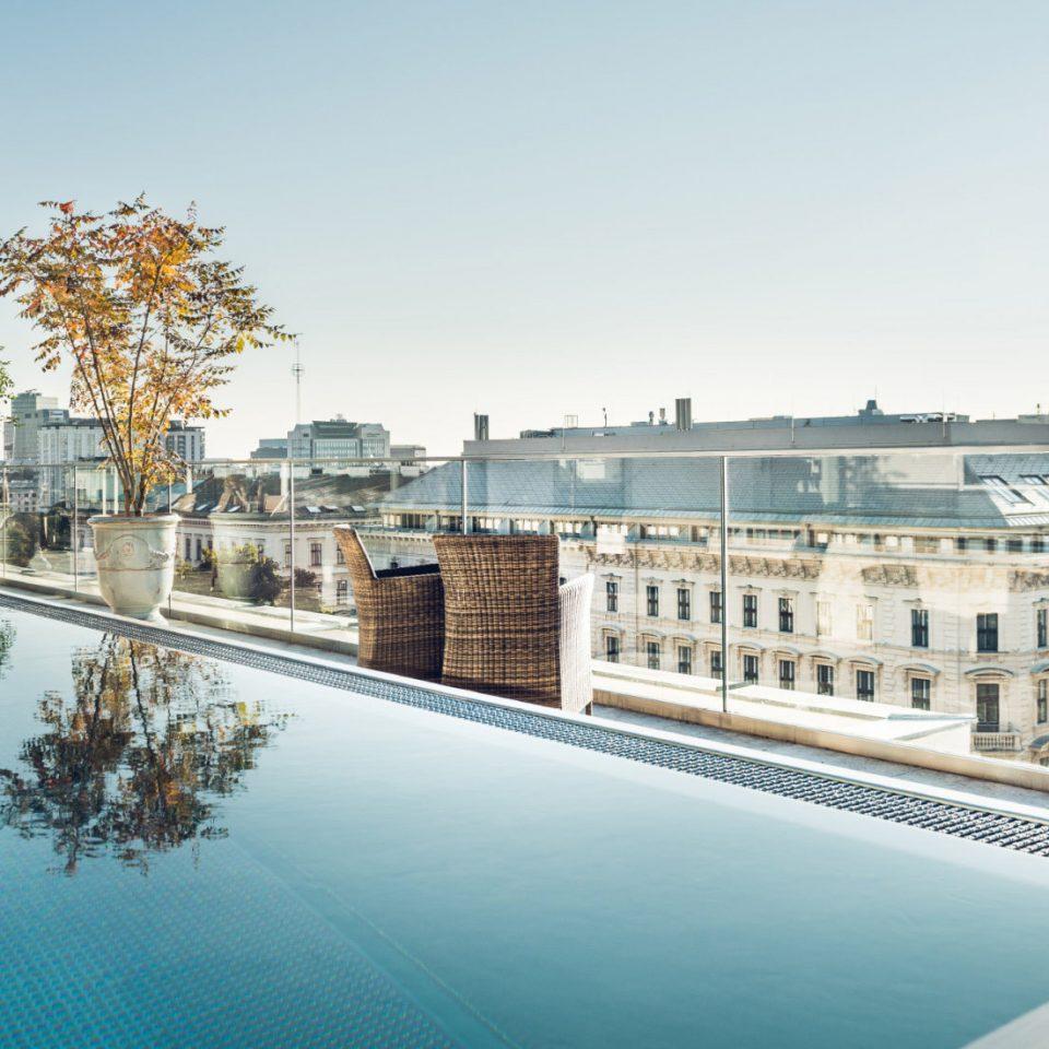 sky property condominium Architecture swimming pool plaza reflecting pool waterway cityscape