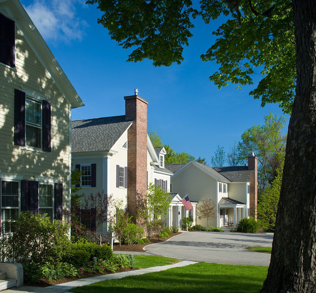 Classic Country Exterior Grounds Inn Outdoors tree house building grass residential home property residential area neighbourhood suburb Architecture cottage brick old lawn mansion farmhouse Town Villa backyard stone